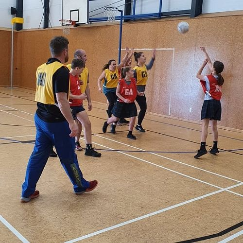 05/06/20 Staff vs Students Netball
