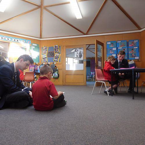 Buddy Reading at Mornington School
