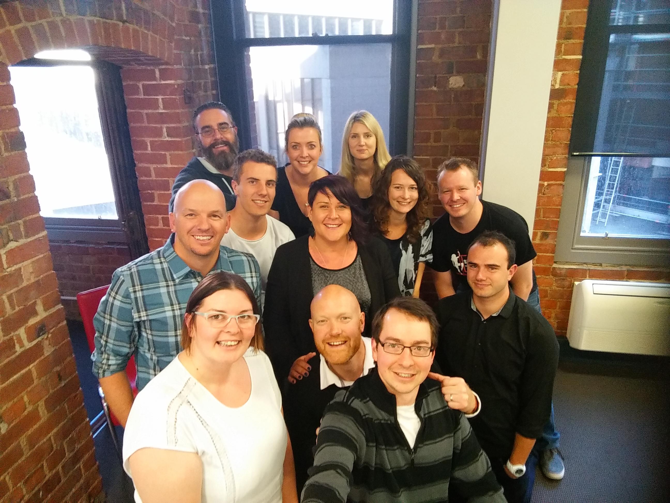 Team Firebrand Selfie