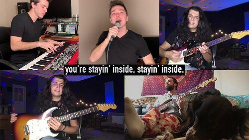 "Video: ""Stayin' Inside"" - Corona Virus Bee Gees Parody"