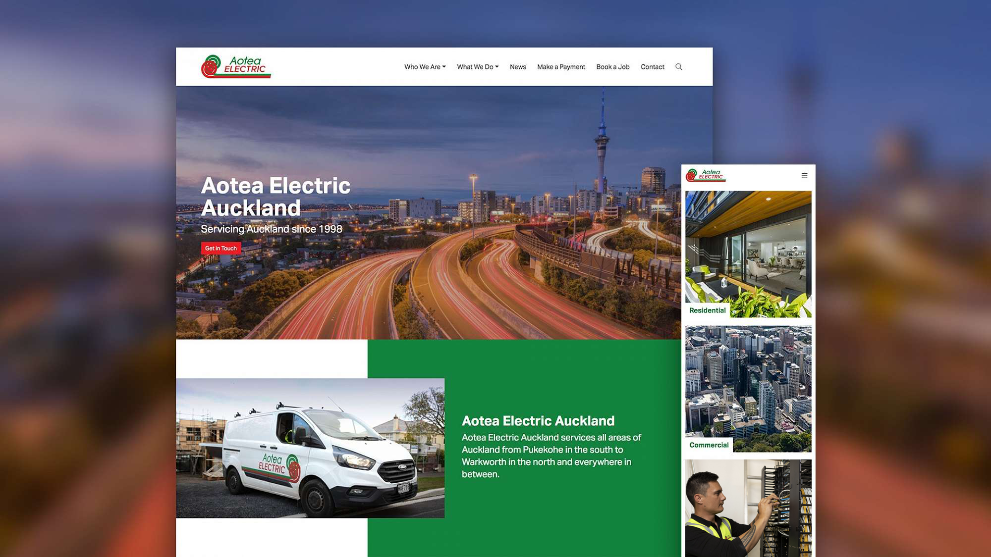 Aotea Electric Auckland Launches Comprehensive New Website