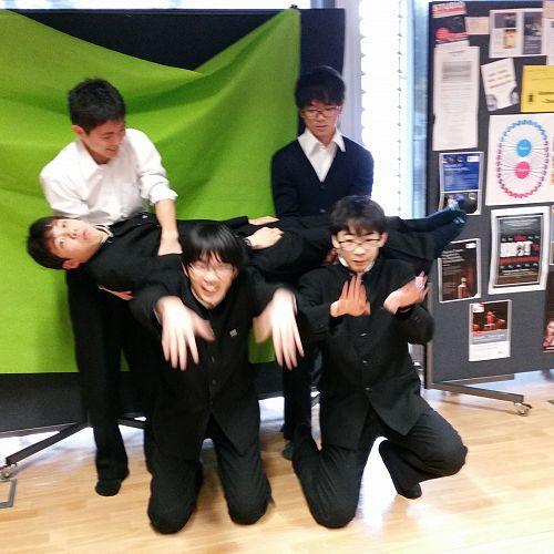 Ichikawa visit 2017. Enjoying a spot of 'drama'!