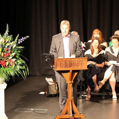 Julian Bowden's prizegiving address