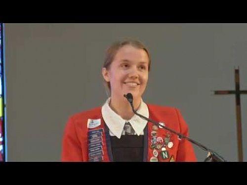 Video: Head Girl Address - St Margaret's College Open Day 2018