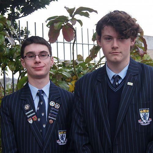 Sam (left) and Ben