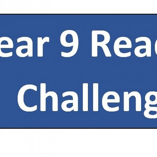 Year 9 Reading Challenge