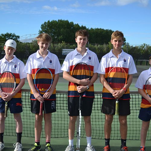 JMC Tennis team compete in the regional Secondary Schools' Tennis Tournament