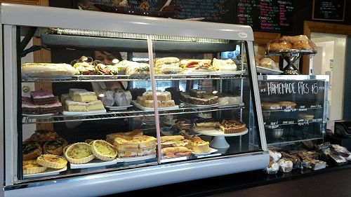 Select from the home made counter treats or order