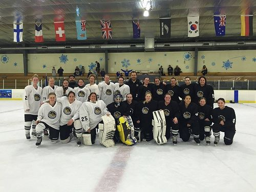 Auckland participants in the 2015 IIHF Global Girl