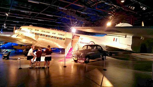 Room 7 and 8 trip to the Air Force Museum