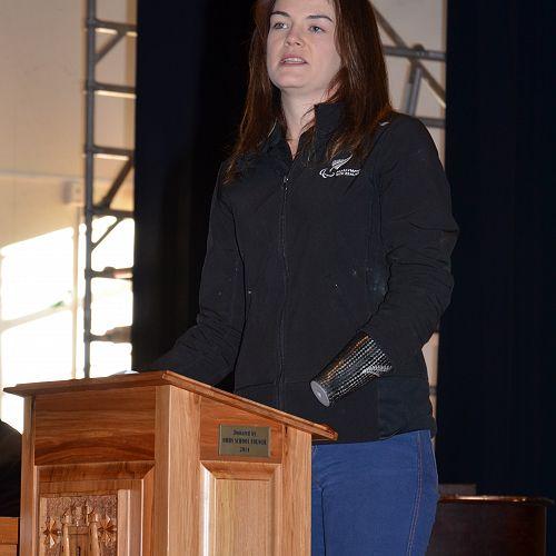 New Zealand Paralympian Holly Robinson