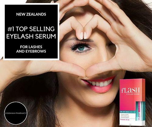 Flash Eyelash Serum - New Zealand's #1 selling gro