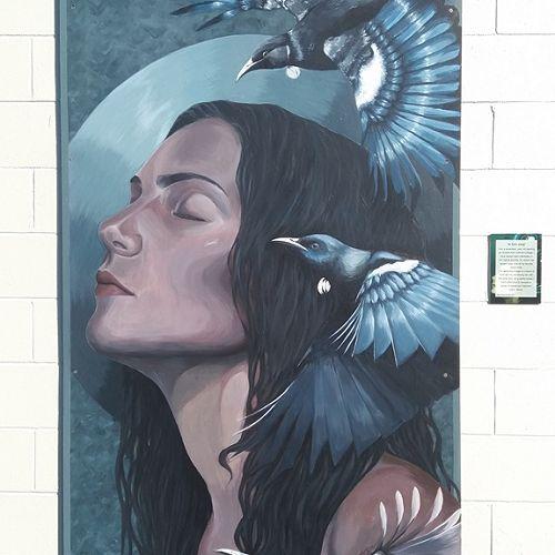 Mural by Brooke Sinclair