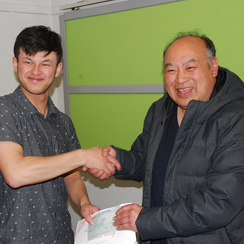 Otago-Southland Chinese Association President, Linus Chin