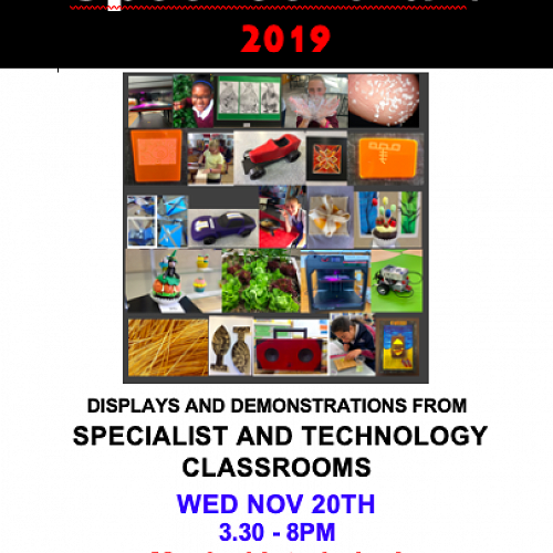SpecTechular! (best said with a strong North Island accent) is this year's display of the skills and knowledge developed by our Casebrook students in the Specialist and Technology rooms.