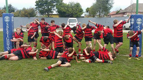 SCPSSA Year 7 & 8 Rugby Team