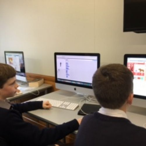 Technical Skills - Y7 & 8 students develop their computer coding skills to create their own animations.