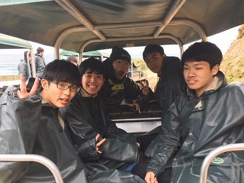 Nature's Wonders - Ichikawa students in Argo