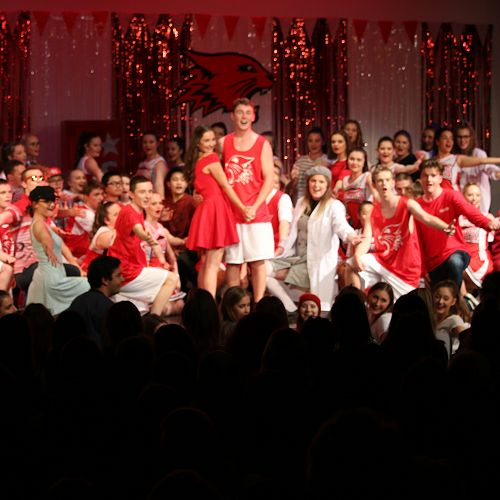 High School Musical - the cast