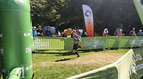 C2C Mountain Run Finish Line - Callum Brown