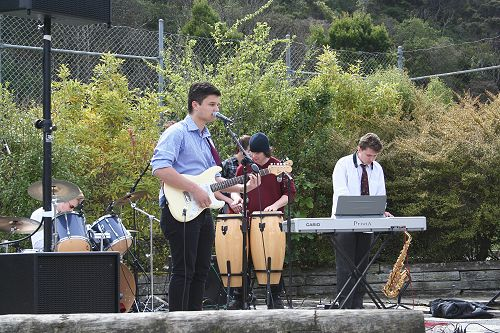 Outdoor Music Concert and Market Day