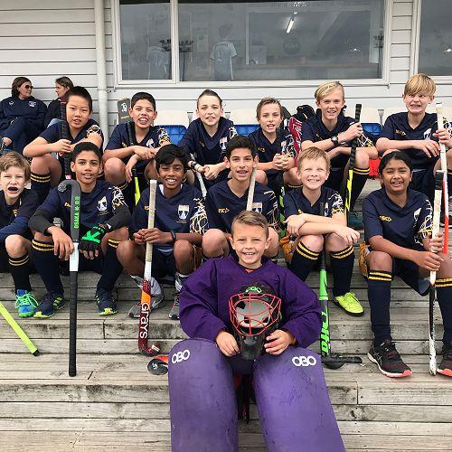Middle School Boys Hockey Team