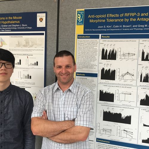 Jun & Prof. Greg Anderson