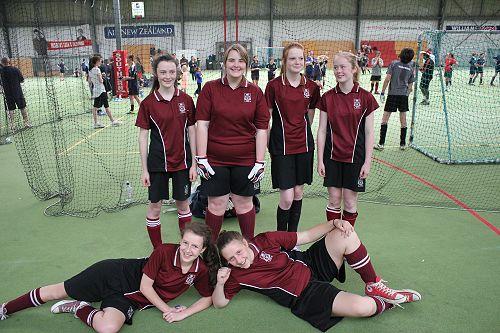 Futsal Term 4 2013 Junior Girls 2 Team