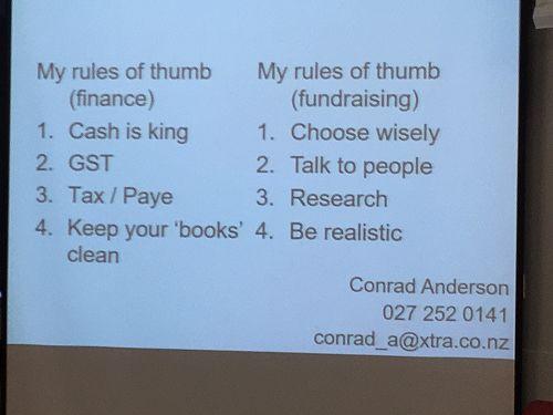 Workshop 2 Conrad Anderson's Finance presentation.
