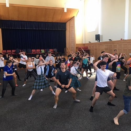 Royal New Zealand Ballet - Workshop Performance with Ichikawa students