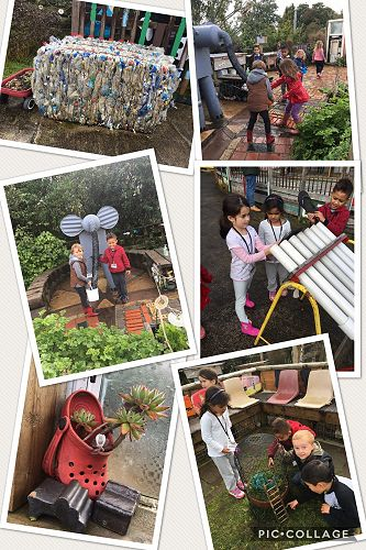 A great day out for Y1 to the Refuse Centre
