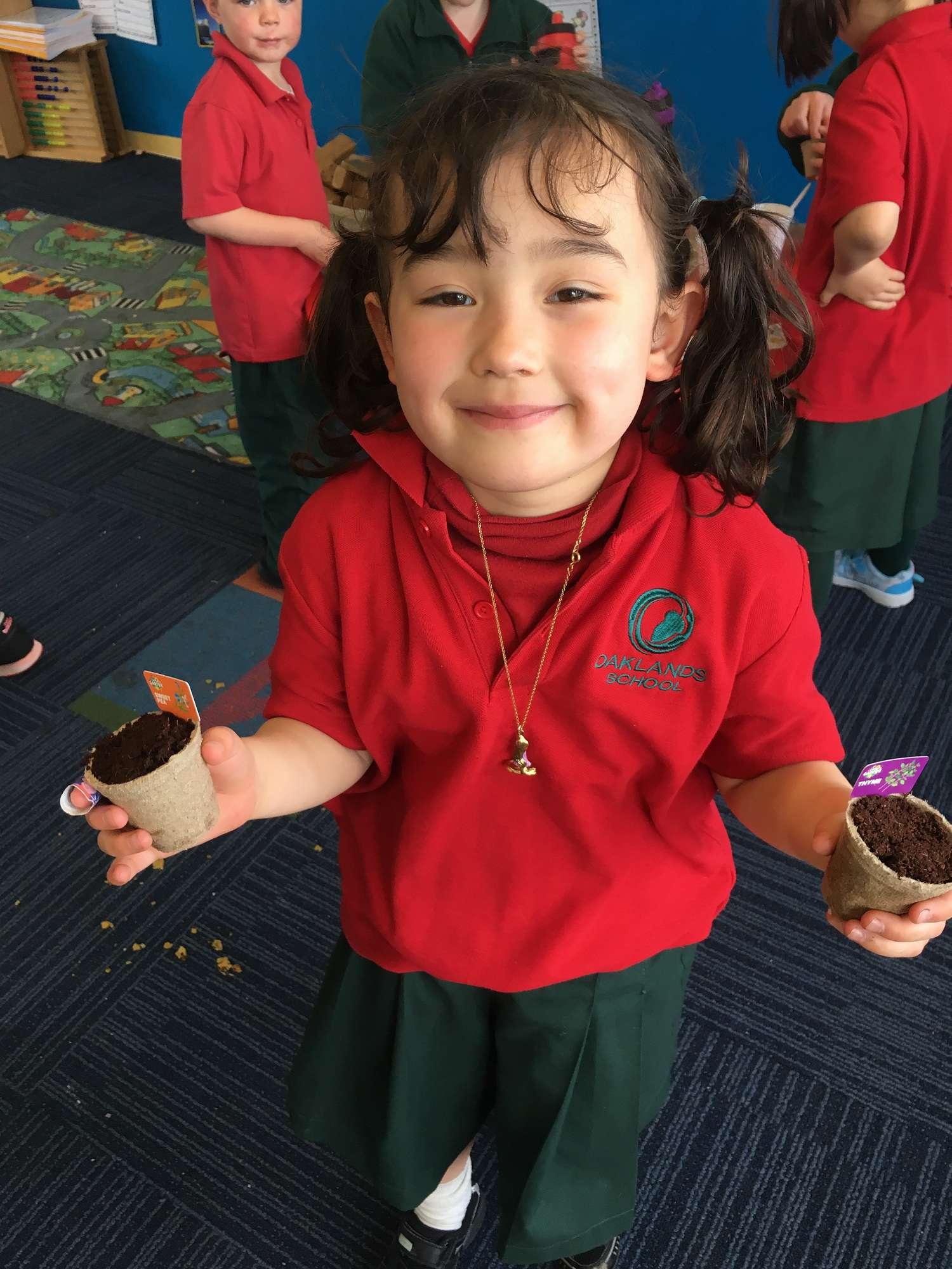 Gardening with our Big Buddies - Reception Hub Blog