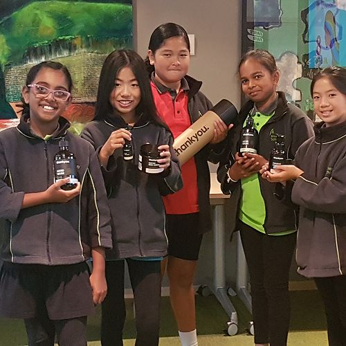 Harakeke students share Thank You's vision of a better world