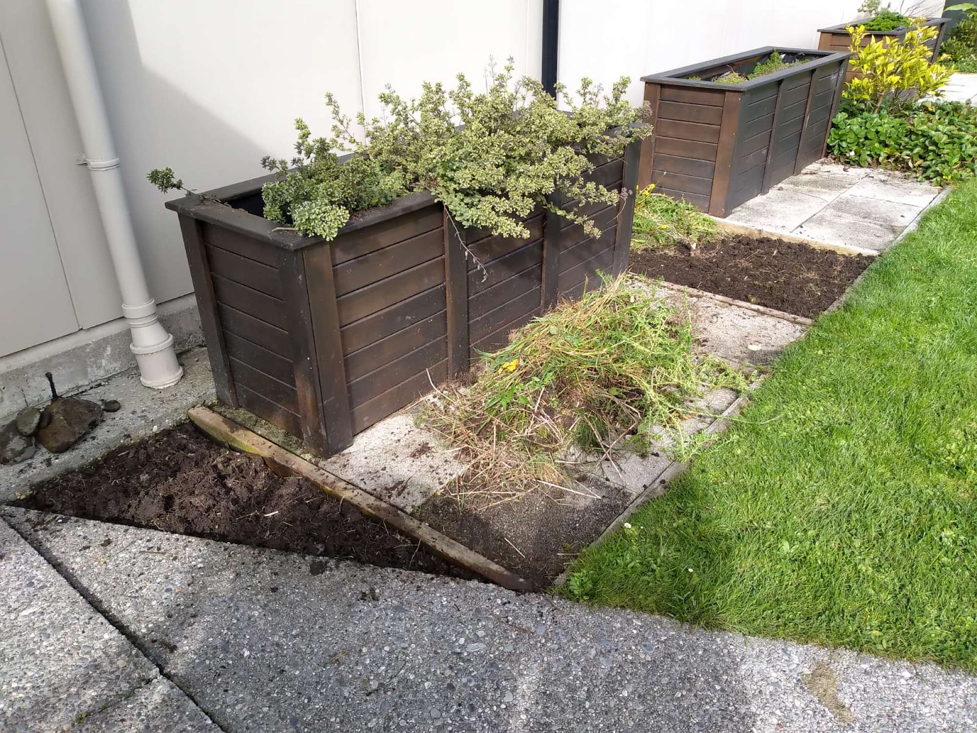Herb Gardens after the makeover