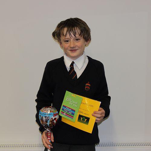 Harry Ross - prize winner