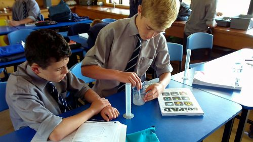 Year 9 Science students investigate how much salt
