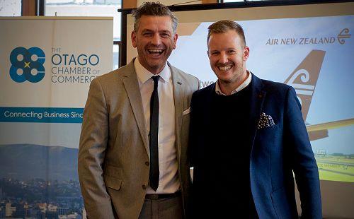 Business After 5 (Dunedin) Air New Zealand and Dun