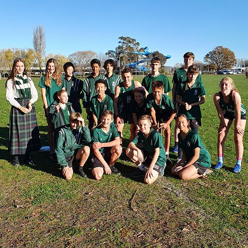 Canterbury Cross Country Team 2021