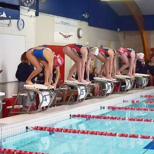 CGHS Swimming Sports 2020