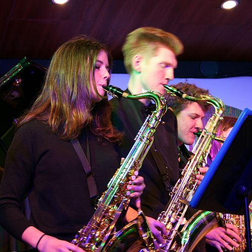 Jazz Band Performs in Christchurch
