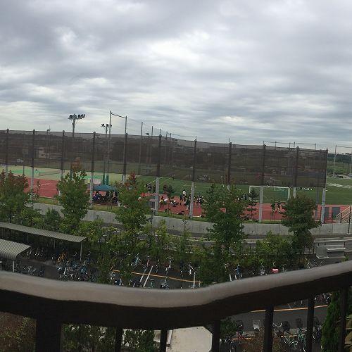 Ichikawa Gakuen - the sports ground.