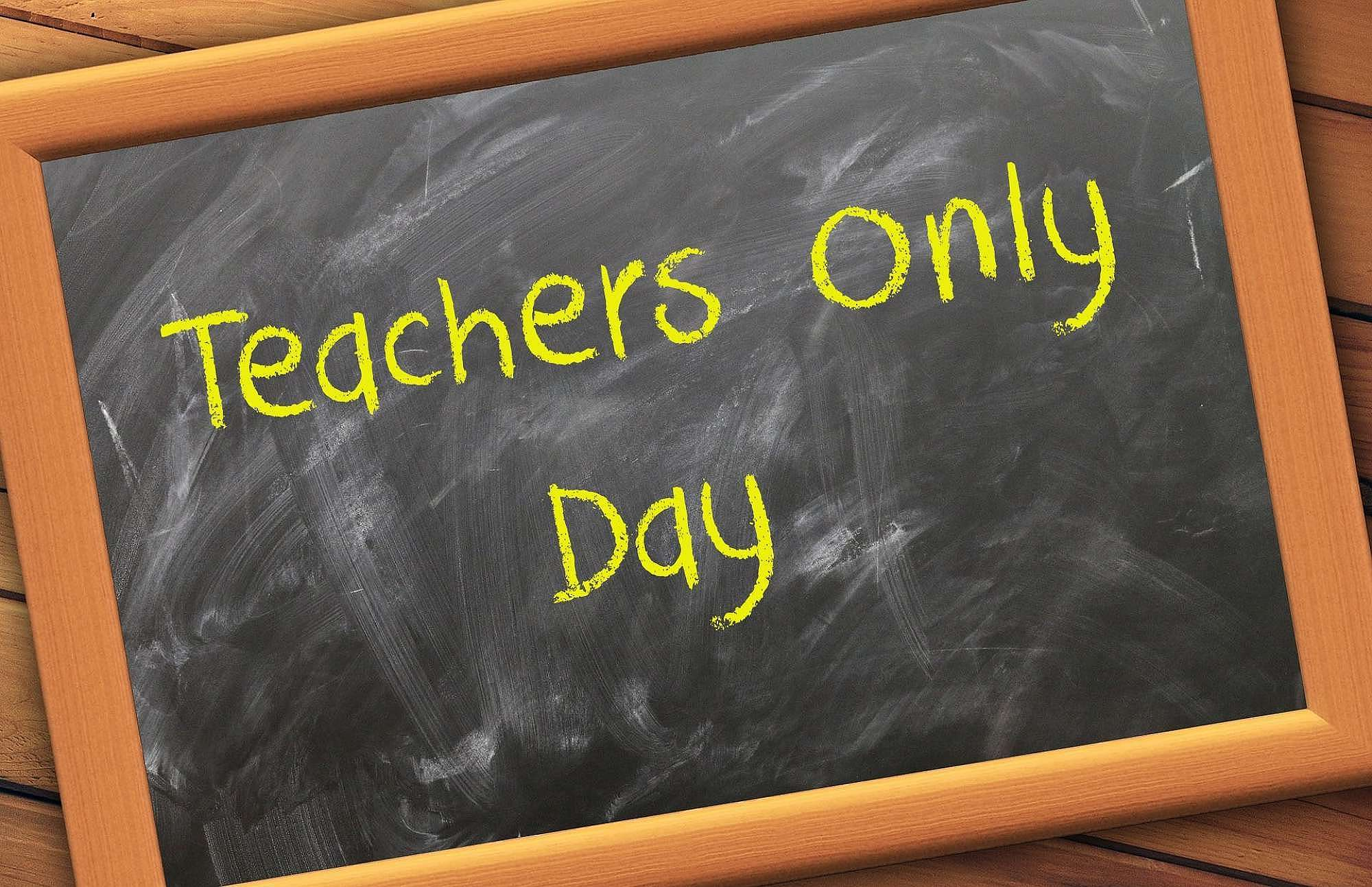 Image result for teacher only days