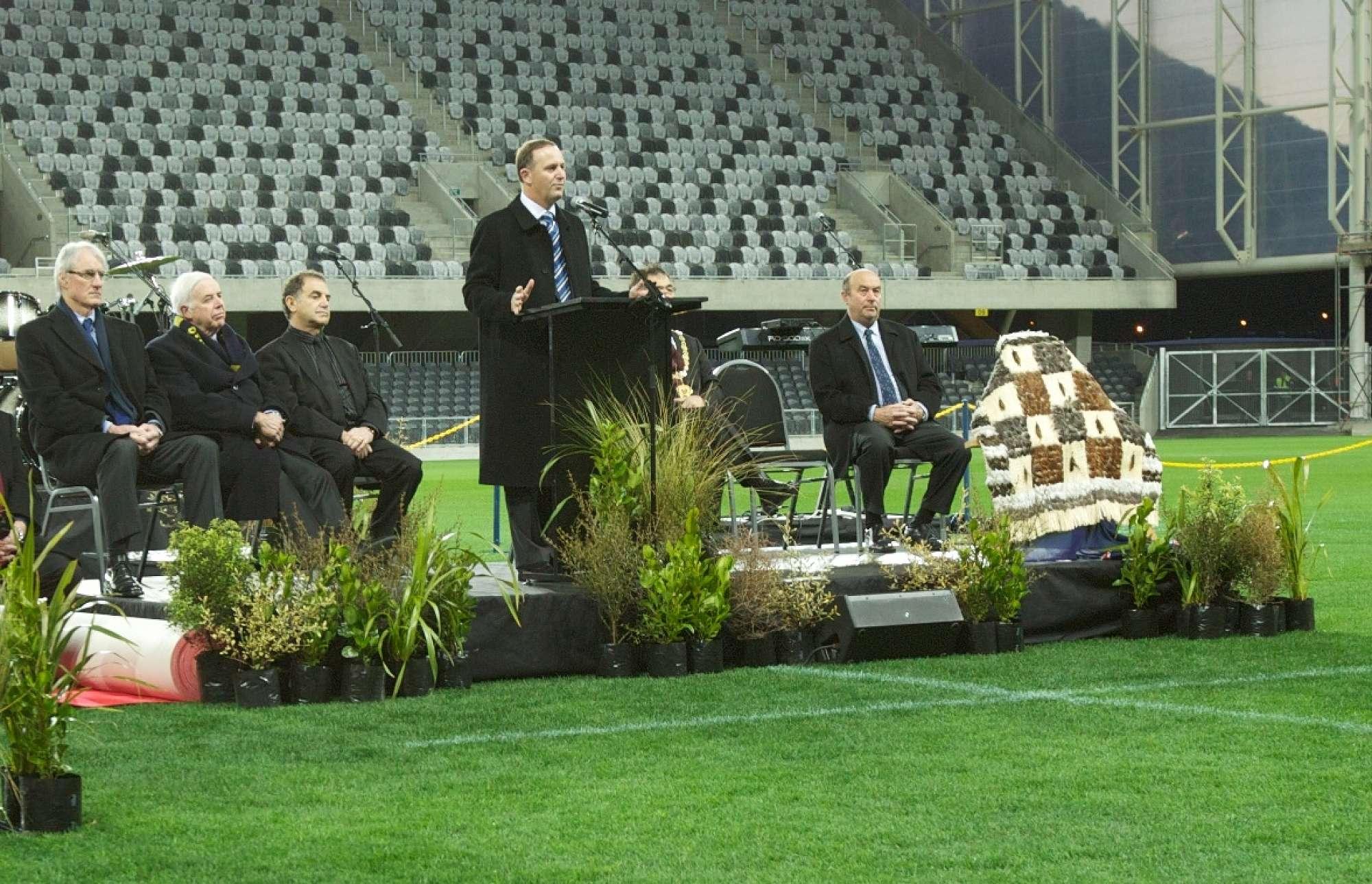 Forsyth Barr Stadium opening ceremony