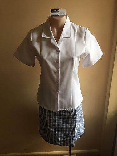 Girls summer blouse and skort or skirt