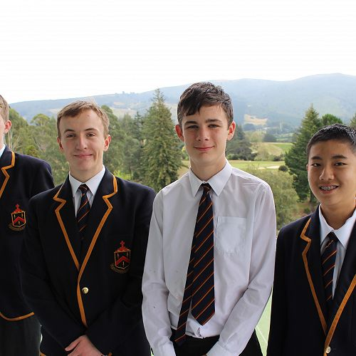 McGlashan 2 Senior Debating Team