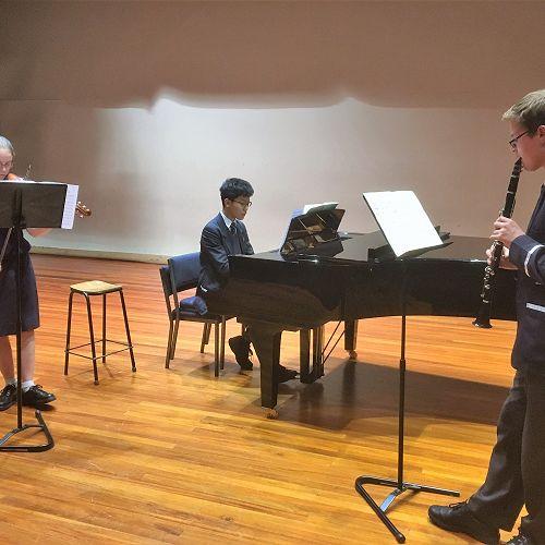 Renee Mullins,   Sean Woo and Joshua Lewis