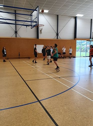 29/05/20 Staff vs Students Basketball