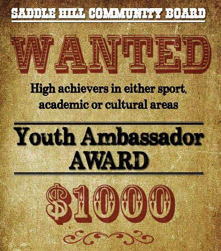 Continuation of the Youth Ambrassador Award is imp