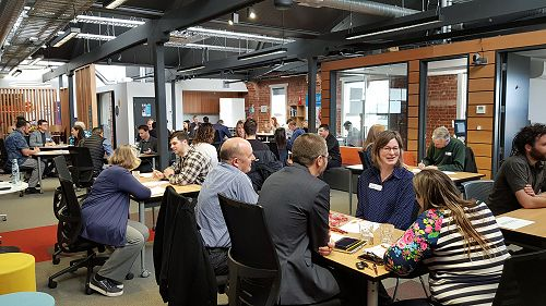 2019 SHIFT Dunedin Speed Networking in action