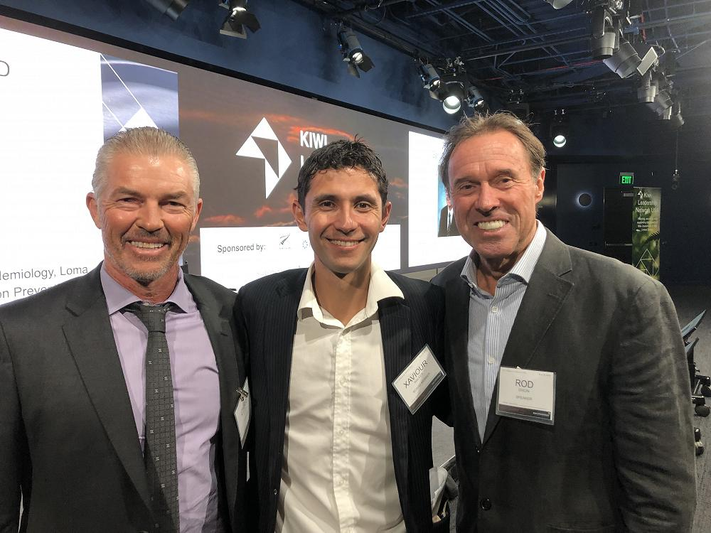 Kiwis Can Fly - LA conference at Google YouTube Spruce Goose, November 2019. With keynote speakers Chris Lewis (1983 Wimbledon Finalist), Xaviour Walker, and Rod Dixon (Olympic Medalist and NYC marathon winner)